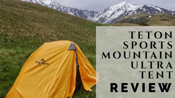 Teton Sports Mountain Ultra Tent REVIEW