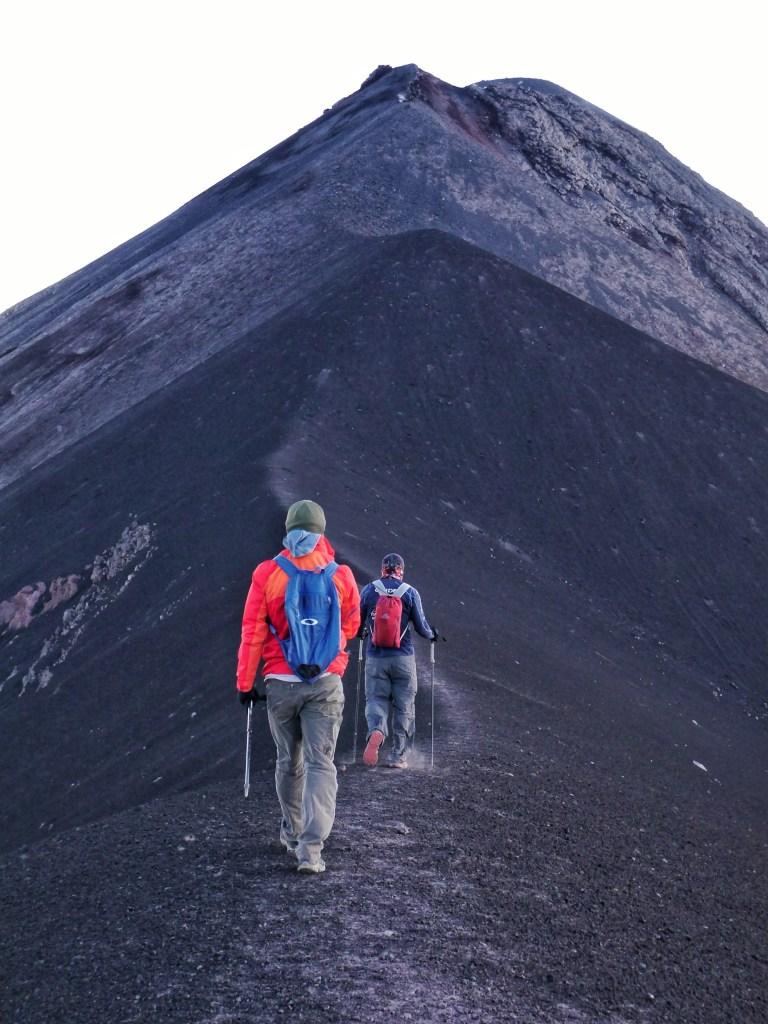 The Knife Ridge of Fuego
