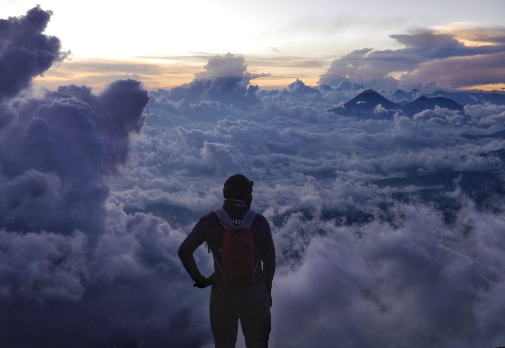 Payoff after Climbing Acatenango