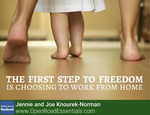 first step to freedom