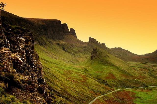 Quiraing on Skye. Pic credit Sandy Sieczkarek Flickr