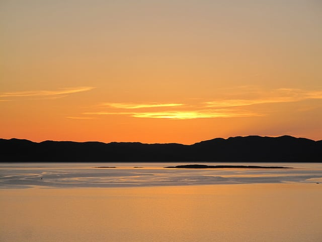 A sunset over the Sound of Jura from Kilberry, Argyll. Pic credit: Forbes Johnston on Flickr