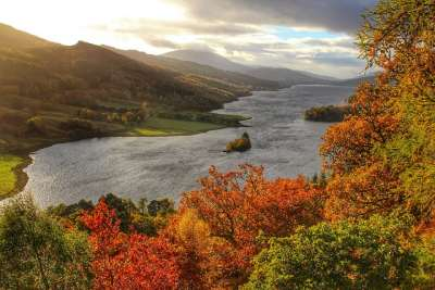 Loch Tummel. Pic credit: Jacob Martin on Flickr