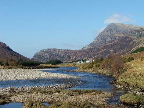 River Hope and Ben Hope. Pic credit: Paul Wordingham