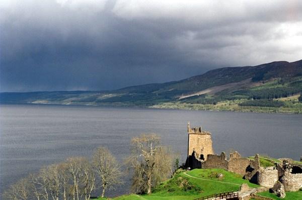 Urquhart Castle on Loch Ness.
