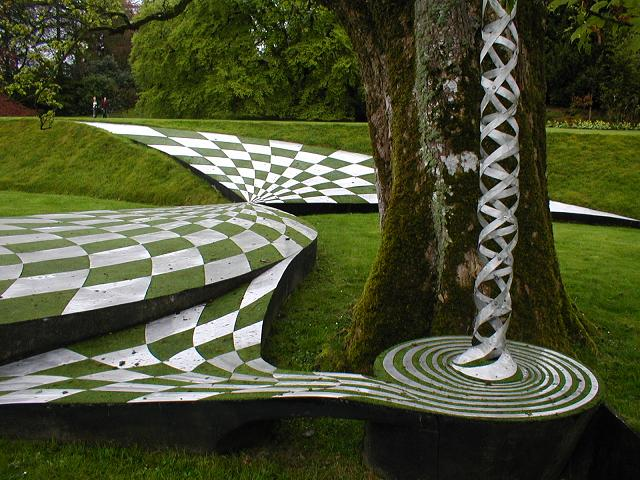 The Garden of Cosmic Speculation in Dumfries. Pic credit: Flexdream