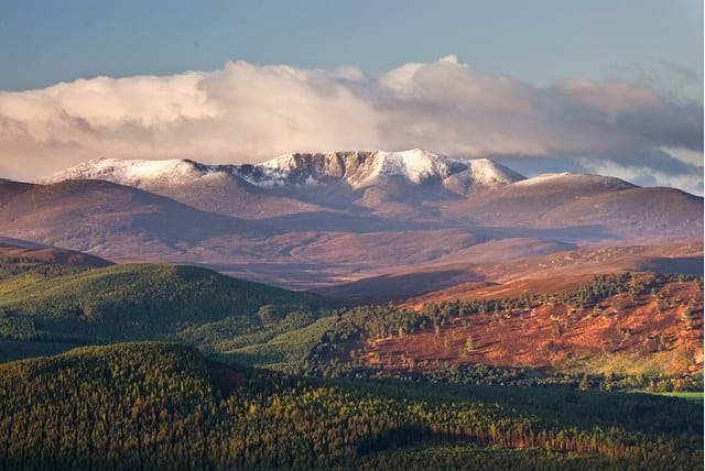 Landscape near Ballater in the Cairngorms. Pic credit: Nigel Corby