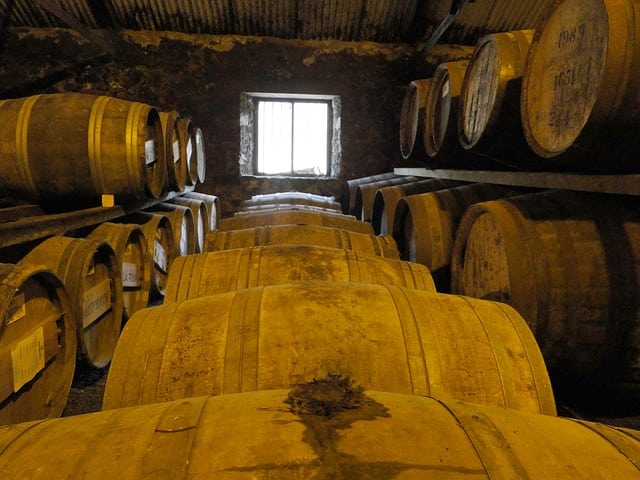 Whisky is a famous draw for holidaymakers in Scotland.