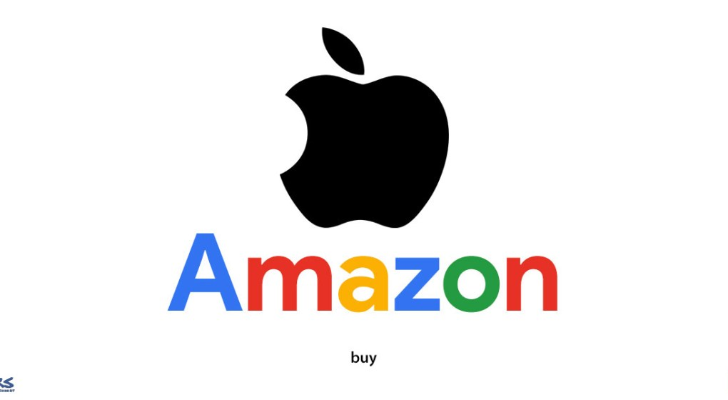 Logo Samba que mistura logo da apple, amazon e google