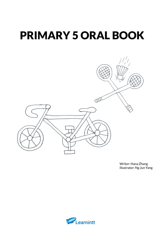 PRIMARY 5 ENGLISH ORAL BOOKLET BY HANA ZHANG (PRINTED BOOK