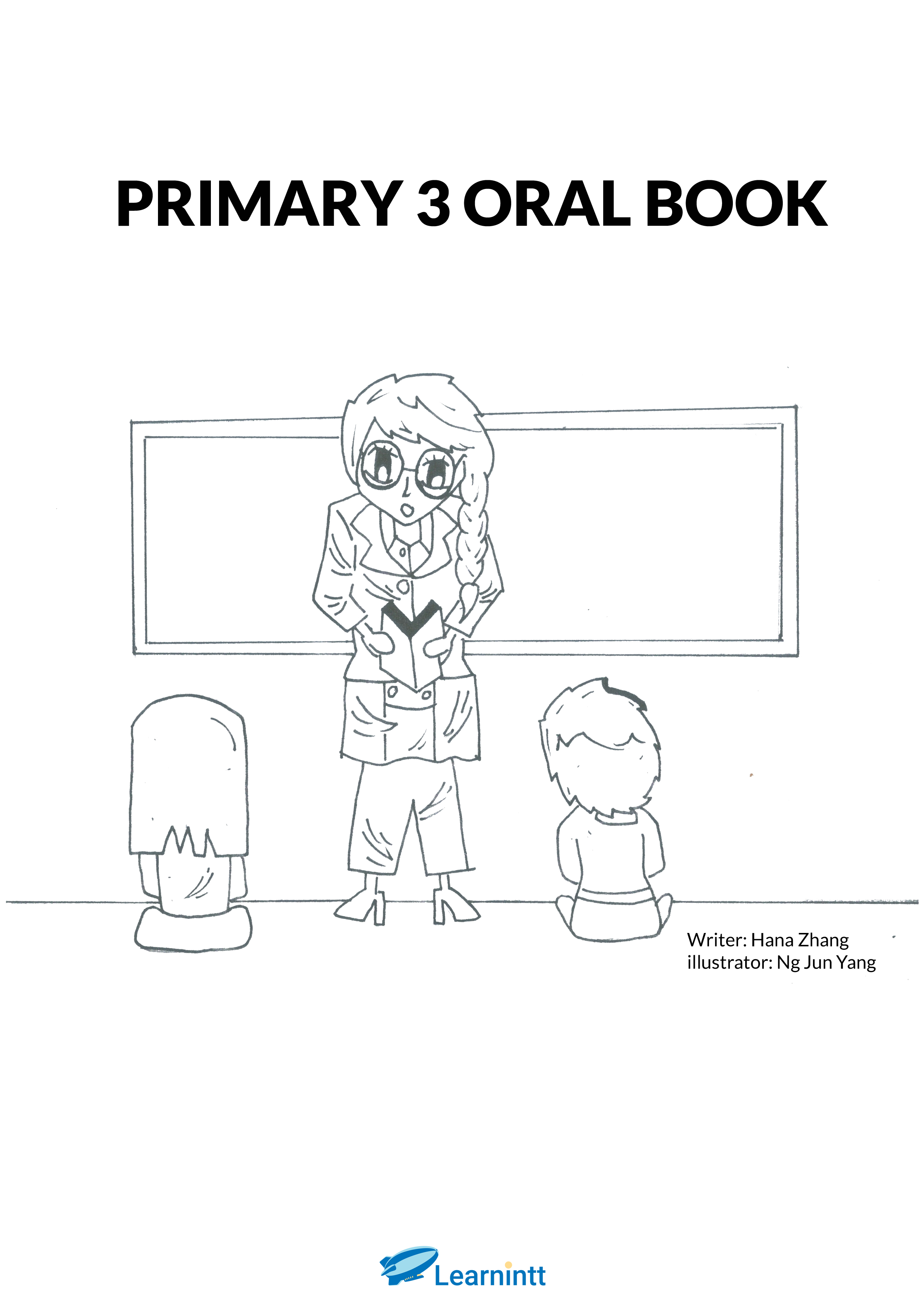 PRIMARY 3 ENGLISH ORAL BOOKLET, BY HANA ZHANG (PRINTED
