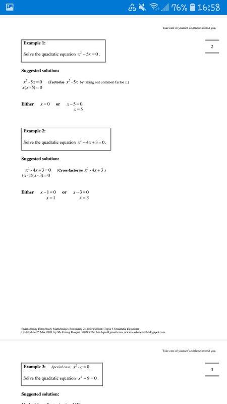 Exam Buddy Elementary Mathematics Sec 2 (2020 Edition