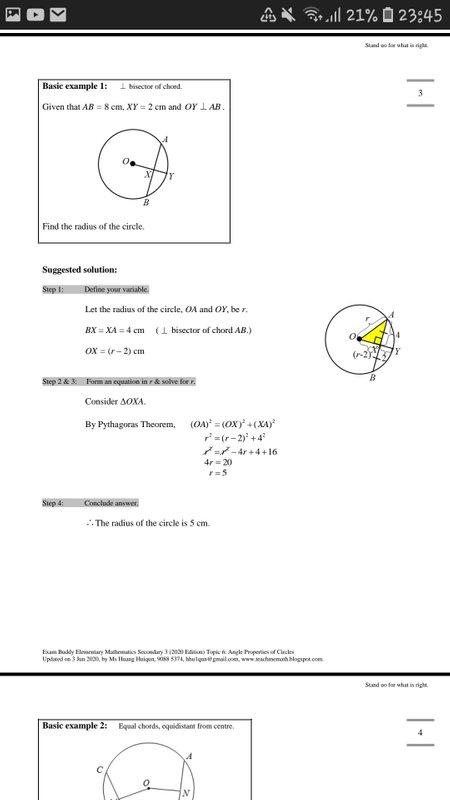 Exam Buddy Elementary Mathematics Sec 3 (2020 Edition