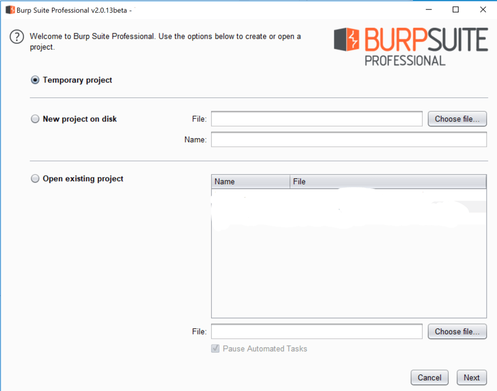 Welcome to Burp