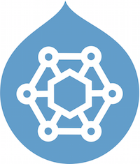 drop shaped logo of acquia content hub drupal module