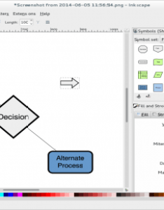 Inkscape also free and open source alternatives to visio opensource rh