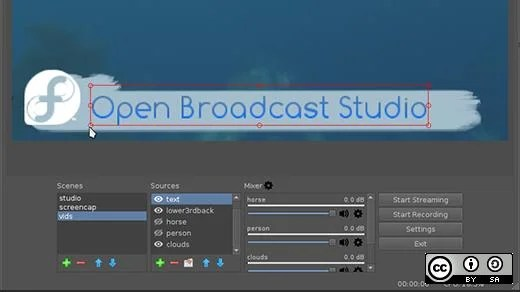 Onthefly video editing with Open Broadcast Studio