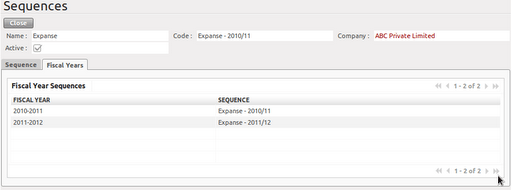 Setting up account module in OpenERP (3/6)