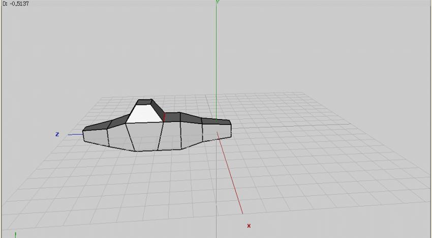 Figure 20: Shifting edges to shape the cockpit