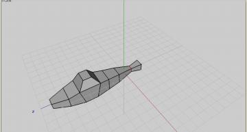 Figure 22: Penultimate edge loop scaled down