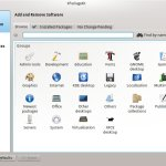 KPackageKit shows software groups