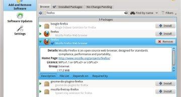 Figure 3: KPackageKit shows application icons