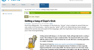 Exploring Software: The New-Look Plone 4