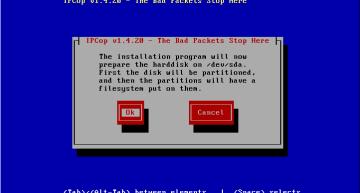 Figure 4: HDD formatting warning