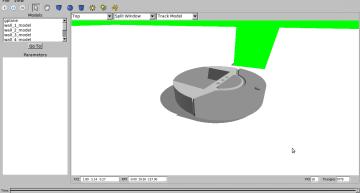 Figure 7: Roomba icreate in gazebo