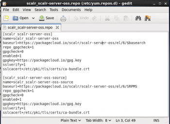 Figure 6 Scalr Repo File