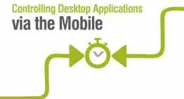 Controlling Desktop Applications via the Mobile SignalR