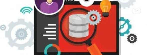 Visual Database with magnifying Glass