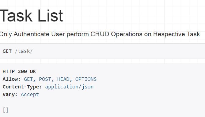 Use Django and REST frameworks to create simple API - Open