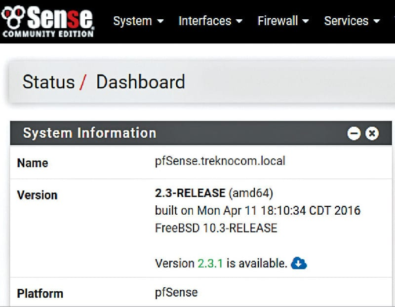 Configuring pfSense in Dual WAN Failover Mode - Open Source for You