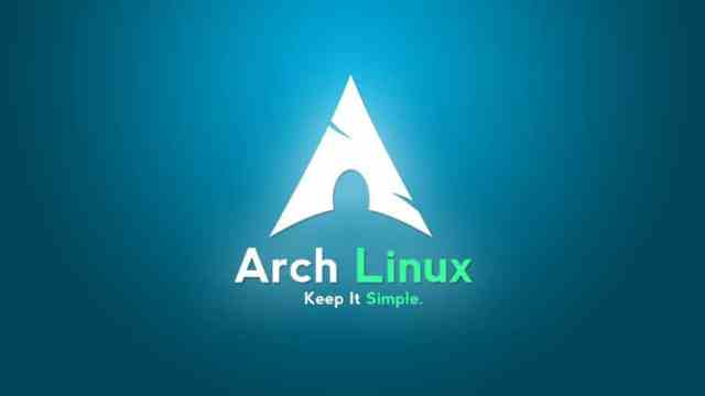 Arch Linux 2017.08.01