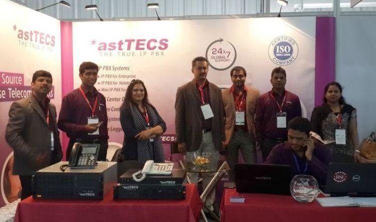 Asttecs at Gitex Technology Week 2017