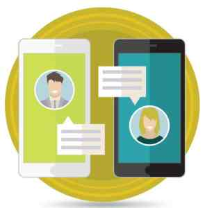 Chat Mobile illustration