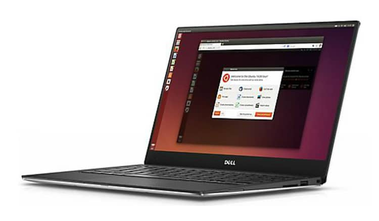Dell XPS 13 Developer Edition