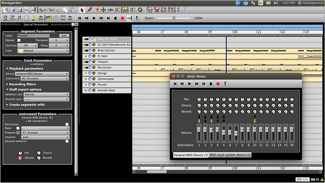Create your own music with free software - Open Source For You