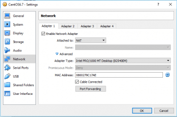 Figure 8 Network Settings