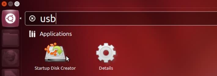 Ubuntu USB drive