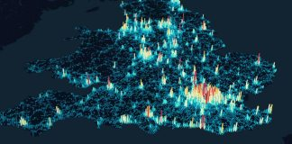 Uber open source data visualisation
