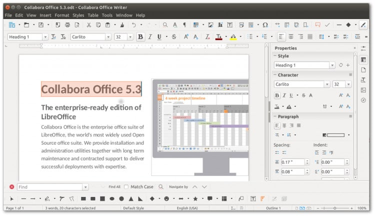 collabora office 5.3 update with best of LibreOffice