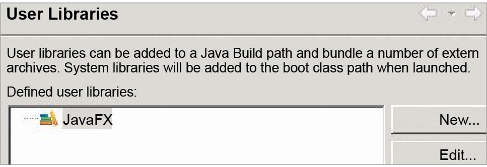 Developing a basic GUI application using JavaFX in Eclipse