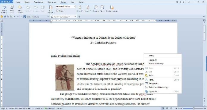 WPS Office Linux