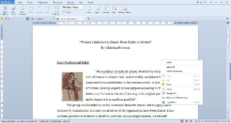 WPS Office Linux updates