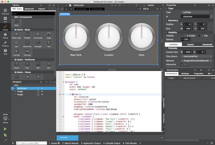 Qt Creator 4.3.0 with new Qt Quick Designer