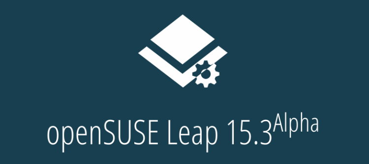 openSUSE 15.3 Alpha