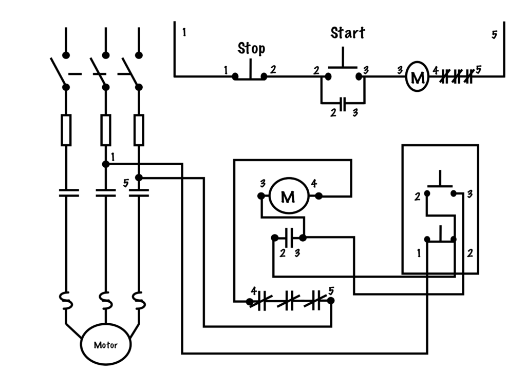 Transferring From Schematic to Wiring Diagram for