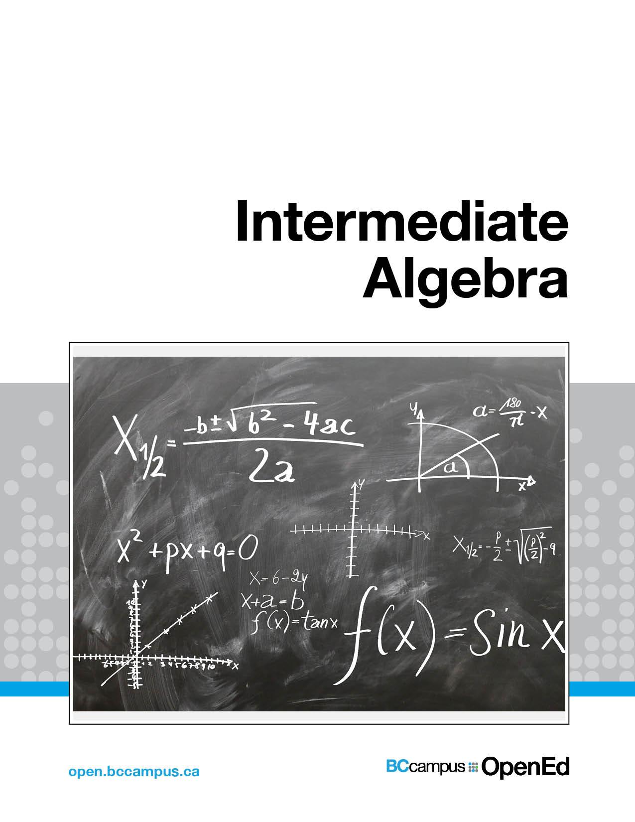 Intermediate Algebra Simple Book Publishing